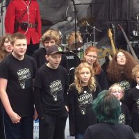 Mayday Youth Choir performance at Walk for Autism Speaks